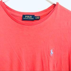 Polo Ralph Lauren Pink and Blue Women's T-shirt